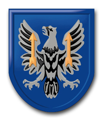 "Army 11th Aviation Brigade 11.75"" Patch Decal"