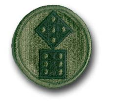 Army 11th Corps Subdued Military Patch