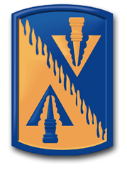 """Army 128th Aviation Brigade 8"""" Patch Decal"""