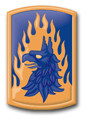 Army 12th Aviation Brigade Patch  Decal