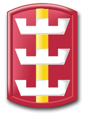 Army 130th Engineer Brigade Patch Decal