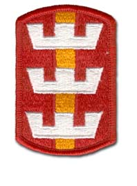 Army 130th Engineering Brigade Military Patch