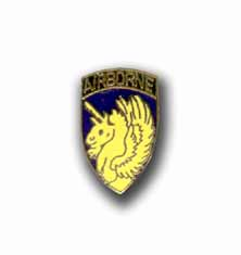 Army 13th Airborne Military Pin