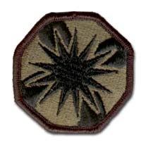 Army 13th Support Command Subdued Military Patch