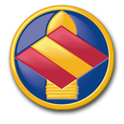 """Army 142nd Field Artillery Brigade 3.8"""" Patch Decal"""