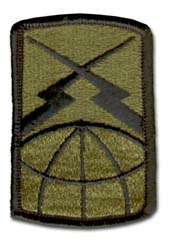 Army 160th Signal Brigade Subdued Military Patch*