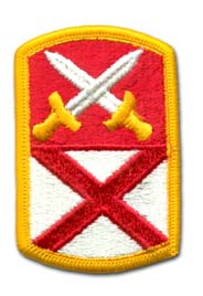 Army 167th Support Command Military Patch