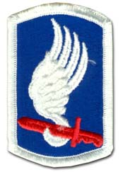 Army 173rd Airborne Brigade Military Patch