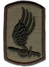 Army 173rd Airborne Brigade Subdued Military Patch