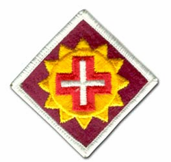 Army 175th Medical Brigade Military Patch