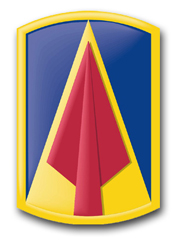 Army 177th Armor Brigade Patch Decal