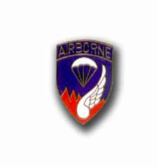 Army 187th Airborne Military Pin