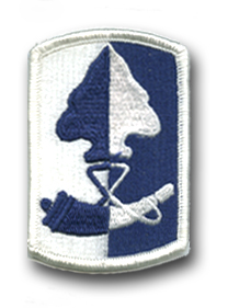 Army 187th Infantry Brigade Military Patch
