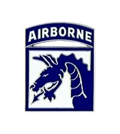 Army 18th Airborne Corps Military Lapel Pin
