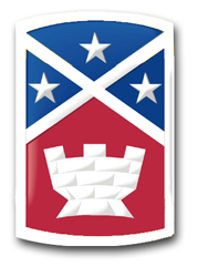 """Army 194th Engineer Brigade 8"""" Patch Decal"""