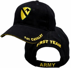 Army 1st Cavalry Adjustable Ball Cap