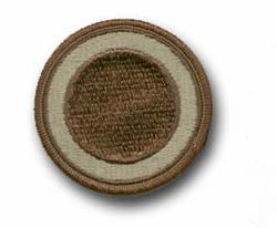Army 1st Corps Desert Military Patch