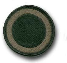 Army 1st Corps Subdued Military Patch