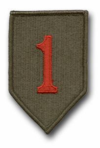 Army 1st Infantry Division Military Patch