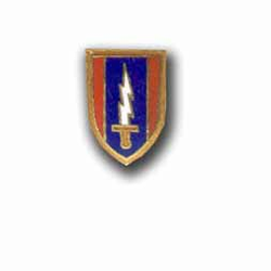 Army 1st Signal Military Pin