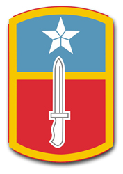 """Army 205th Infantry Brigade 10"""" Patch Decal"""