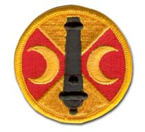 Army 210th Field Artillery Brigade Military Patch