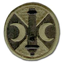Army 210th Field Artillery Brigade Subdued Military Patch