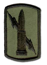 Army 224th Field Artillery Brigade Subdued Military Patch
