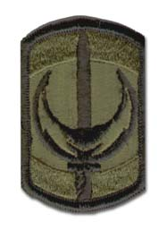 Army 228th Signal Brigade Subdued Military Patch