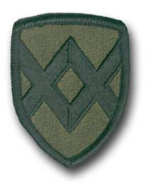 Army 23rd Field Support Training Command Subdued Military Patch