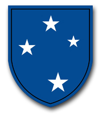 "Army 23rd Infantry 10"" Patch Vinyl Transfer Decal"
