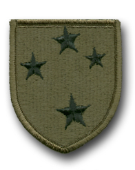 Army 23rd Infantry Division Subdued Military Patch