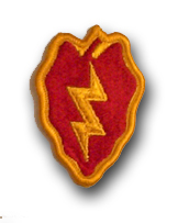 Army 25th Infantry Division Military Patch