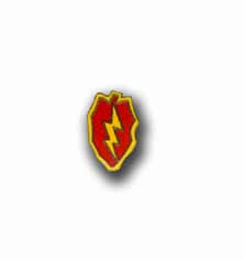 Army 25th Infantry Division Military Pin