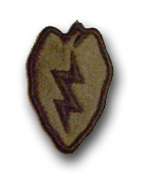 Army 25th Infantry Division Subdued Military Patch