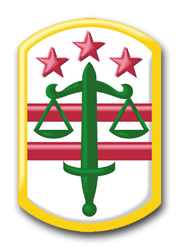 "Army 260th Military Police Command 10"" Patch Vinyl Transfer Decal"