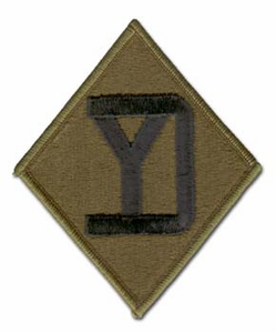 Army 26th Infantry Division Military Patch