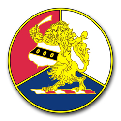 "Army 28th Infantry Unit Crest 3.8"" Vinyl Transfer Decal"