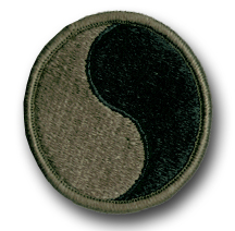 Army 29th Infantry Division Subdued Military Patch