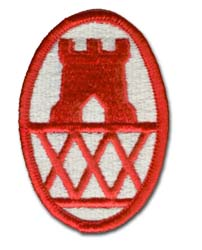Army 30th Engineering Brigade Military Patch