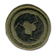 Army 311th Support Command Subdued Military Patch