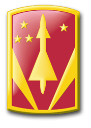 "Army 31st Air Defense Artillery Brigade 3.8"" Patch Decal"