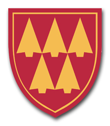 Army 32nd Air Defense Command Patch Vinyl Transfer Decal