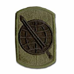 Army 358th Civil Affairs Brigade Subdued Military Patch