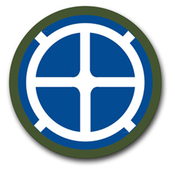 "Army 35th Infantry 10"" Patch Vinyl Transfer Decal"