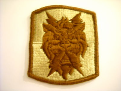 "Army 35th Signal Brigade Corps Airborne 2 7/8"" Patch"