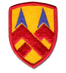 Army 377th Support Command Military Patch