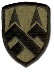 Army 377th Support Command Subdued Military Patch