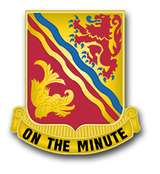 "Army 37th Field Artillery Brigade Unit Crest 8"" Decal"