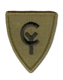 Army 38th Infantry Division Subdued Military Patch